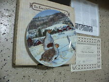 Gray Partridge Knowles Bradford Exchange Collector Plate
