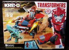Kre-O Transformers SIDESWIPE ROADWAY RUNDOWN Building Set ~ 98 Pieces ~ Hasbro