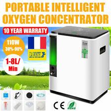1-8L/min Portable 90% Pureté Concentrateur d'oxygène Générateur Machine 110W