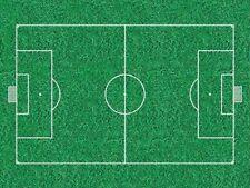 CIALDA in ostia Campo di calcio, 20 x 30 cm, personalizzabile, decorazione torta