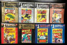 DC COMICS FAMOUS 1ST EDITION SUPERMAN, BATMAN, WONDER WOMAN, SHAZAM !