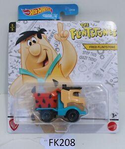 Hot wheels Character Cars Fred Flintstone The Flintstones 5/5 FNQHotwheels FK208