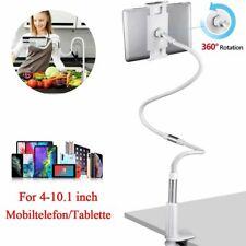 360° Halterung Tisch Bett Schwanenhals Halter Ständer Universal für Handy Tablet