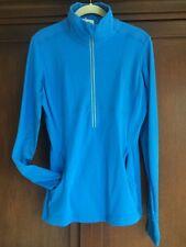 Lululemon NWT Star Runner Pullover Lace Ruffle 10 Blue Cornflower Blue