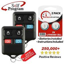 2 For 1998 1999 2000 2001 2002 2003 2004 Lincoln Town Car Keyless Remote Key Fob