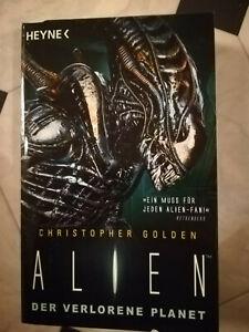 Alien - Der verlorene Planet, von Christopher Golden, guter Zustand