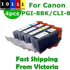 4X PGI 5BK CLI 8 Ink Cartridge For Canon IP3500 IX4000 5000 MP510 520 MX700