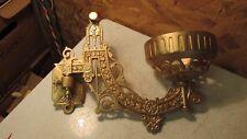 Antique Cast Iron Bracket Lamp- Gold