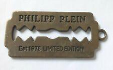 Necklace pendant key ring fashion 1978 Philipp Plein Men's Metal Razor Blade