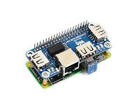 Waveshare Ethernet/USB HUB HAT for Raspberry Pi 1xRJ45 Ethernet Port 3xUSB Ports