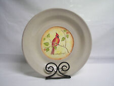 Cardinal Decorative Plate Clay Pottery Dubois Design Philippines w/Stand Heavy