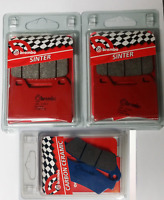 BREMBO FRONT / REAR BRAKE PADS SET FOR MOTO GUZZI STELVIO 1200 / NTX 2008 >