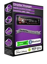 Chrysler Voyager DAB+ radio CD player stereo Pioneer plays iPod iPhone USB stick