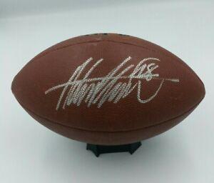 ADRIAN PETERSON Signed Autographed Football COA Minnesota Vikings