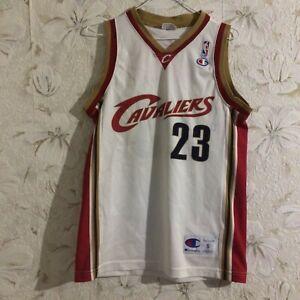 NBA Cleveland Cavaliers Jersey #23 James Champion Basketball Size S