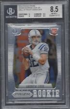 ANDREW LUCK 2012 PANINI PRIZM SP BALL RIGHT SHOULDER PHOTO VARIATION RC BGS 8.5