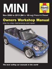 Car Service & Repair Manuals Mini 2006