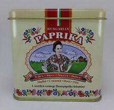 Hungarian Paprika Sweet Kalocsai Paprika 100g / 3.5 oz. Tin + FREE wooden scoop