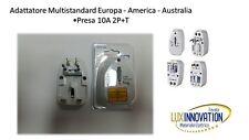 Presa elettrica universale da viaggio adattatore per Europa America Australia
