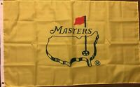 The Masters Yellow Flag 3x5 Golf Banner Augusta TIger Woods
