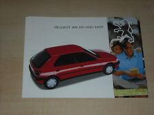 45160) Peugeot 306 XR XRDT Prospekt 199?