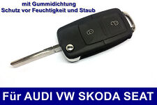 2tasten FLIP KEY FOR VW Golf4 IV Volkswagen Car Key Radio Key