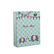 Piccolo Bambino Blu Slip in Album Fotografico Foto 100 6x4'' Elefante KIDS-ba-9776
