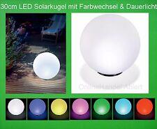 LED Solarkugel Solarleuchte Solarleuchtkugel Solarlampe Solar Gartenkugel Kugel