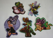 Gumball Vending Machine Fairy Stickers Lot of 5 By Hughes