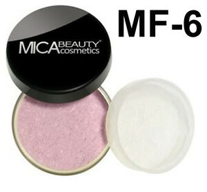 Mica Beauty Natural Loose Mineral Bronzer FB- 6 ROSY PINK
