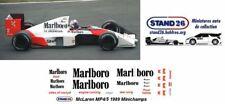 Decals Marlboro McLaren MP4/5 Senna / Prost 1989 1:18