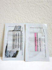 Lot of 2 Sephora Samples Instant Moisture+ Cream & Mud Mask Purifying Mattifying