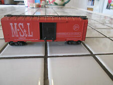 athearn very old M St L 40 foot box car Ho scale sprung trucks