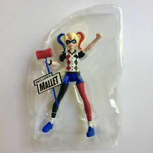 "Harley Quinn - DC Superhero Girls Mattel (2015) Loose Complete NM 6"" figure"