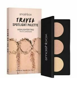 SMASHBOX TRAVEL SPOTLIGHT HIGHLIGHTER TRIO PALETTE PEARL BRAND NEW IN BOX