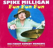 SPIKE MILLIGAN - FUN FUN FUN - HIS FINEST COMEDY MOMENTS (NEW SEALED 2CD)