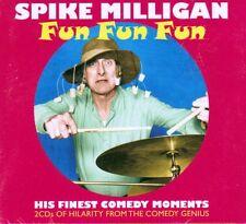 SPIKE MILLIGAN - FUN FUN FUN - HIS FINEST COMEDY MOMENTS (NEW SEALED 2CD)