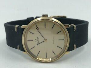 Vintage Gold OMEGA De Ville Mens Watch Cal.625 1977