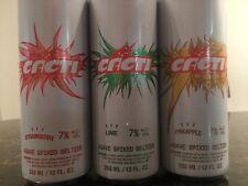 (3) Cacti Travis Scott Spiked Seltzer Cans (Empty)