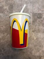 Vintage McDonalds Toy Soft Drink Cup with Sounds Straw for Doll from 90's