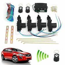 Remote Control Car Central Locking Security System Keyless Entry Kit 2 or 4 Door