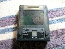 Nintendo 64 N64 Memory Card 4x clear
