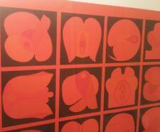 MOD POP Takeshi Kawashima seattle olympic hotel vtg mcm modern art wall painting