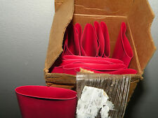 "4' Tubing ALPHA WIRE FIT 221 Red 1-1/2"" 1.5""  Heat Shrink READ DESCRIPTION"
