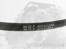 🔻 COURROIE 24V jeep WILLYS HOTCHKISS M201 WOF H081304