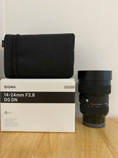 Sigma 14-24mm f2.8 DG DN Art Lens - Sony E Fit