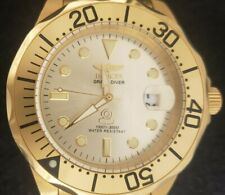 Invicta Grand Diver Automatic 3051 Men's Wristwatch Timepiece Stainless Used