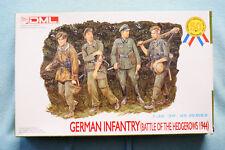 German Infantry (Hedgerows 1944) - DML 6025 - 1/35 - Kit - 4 Figures