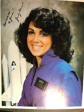 Judith Resnik Nasa Astronaut Challenger Autographed 8x10 Photo Jscl-186