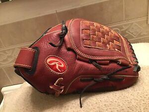"Rawlings RTD125P 12.5"" Women's Fastpitch Softball Pitchers Glove Right Hand Thro"